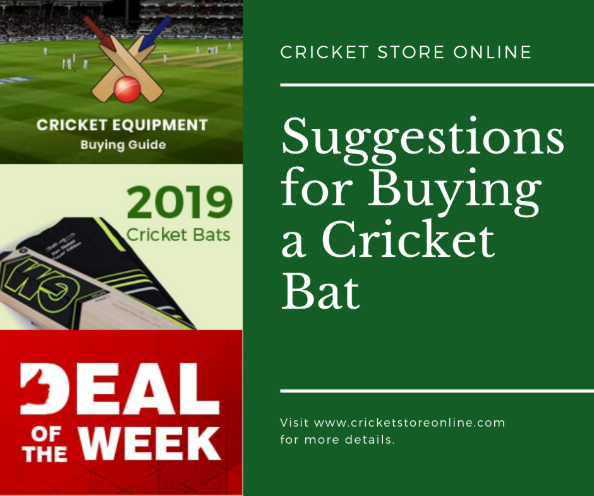 Suggestions for buying a Cricket Bat