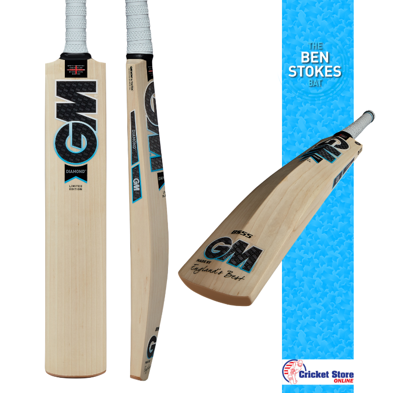 Ben Stokes GM Diamond Cricket Bat
