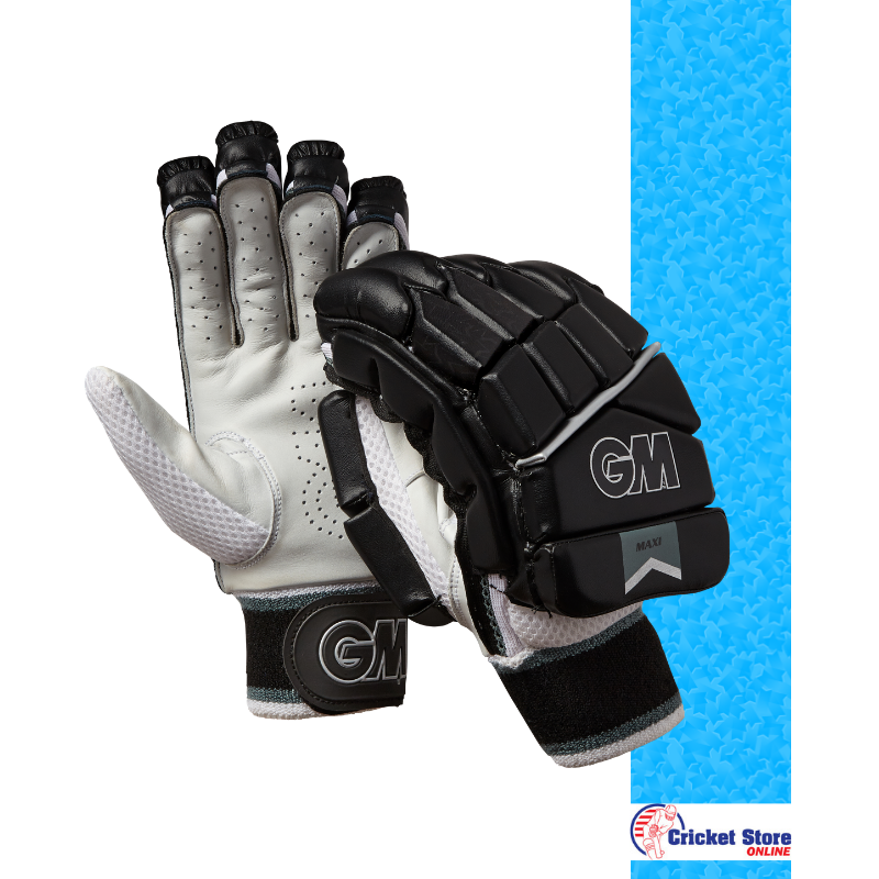 GM Maxi Black T20 Batting Gloves 2019