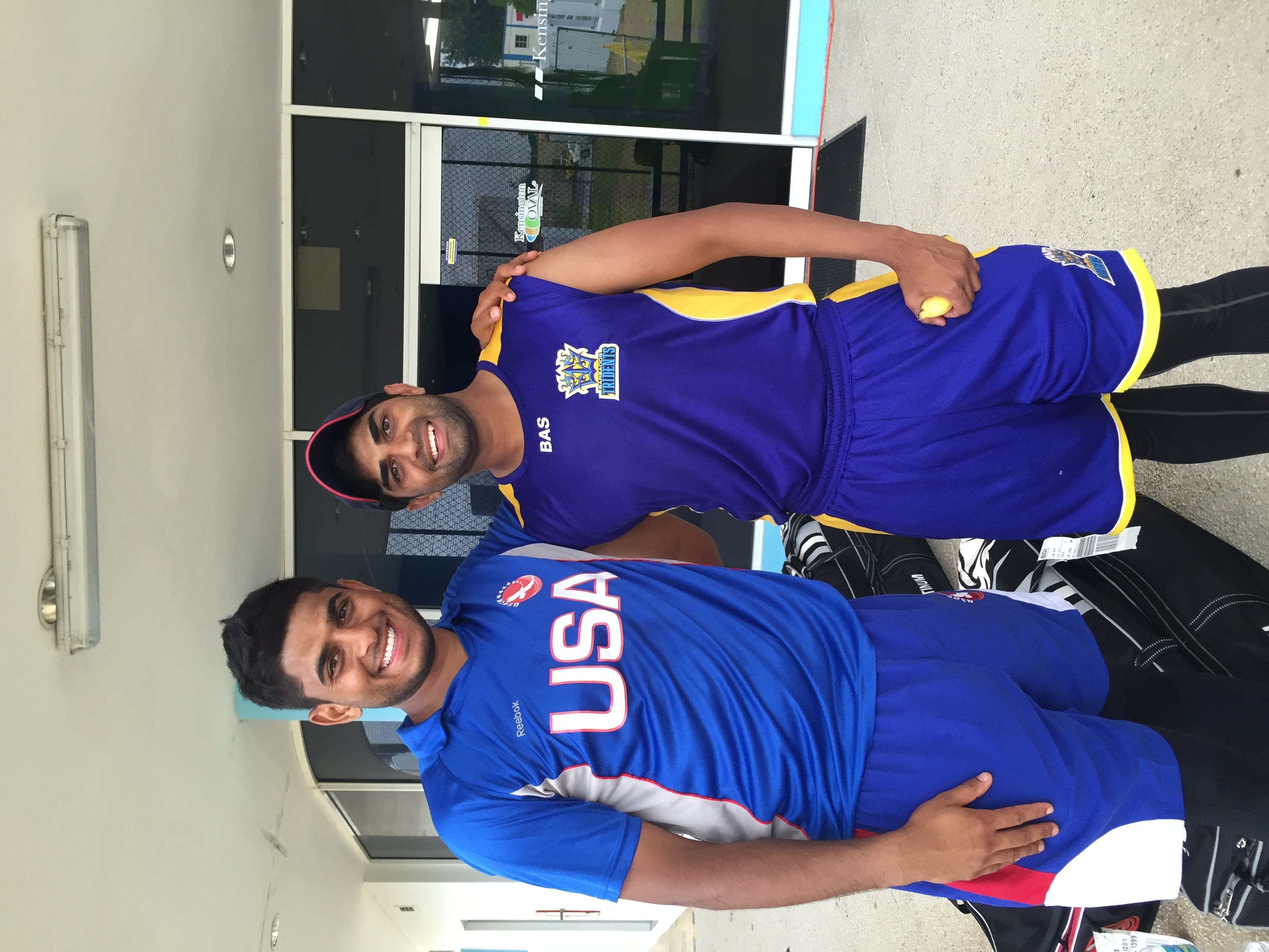 Adil Bhattis Tour with the Barbados Tridents