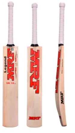 MRF legend VK 18 1.0 junior cricket bat 2021